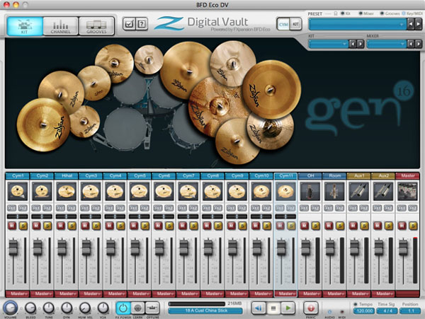 Zildjian Digital Vault